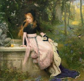Symonds, William Robert : The Princess and the Frog