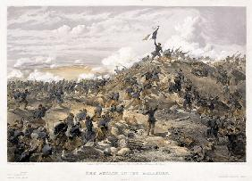 Attack on the Malakoff redoubt on 7 September 1855