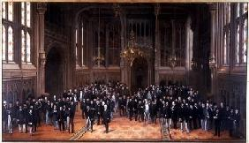 Members' Lobby, Houses of Parliament