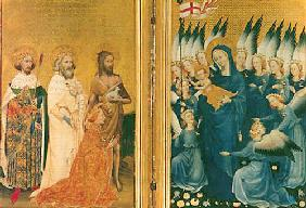 Wilton Diptychon : Richard II. King of Englan...