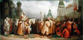 Palm Sunday Procession under the Reign of Tsar Alexis Romanov (1629-76)
