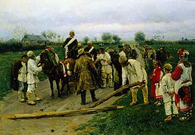 Makowski, Wladimir Jegorowitsch : The wedding procession on ...