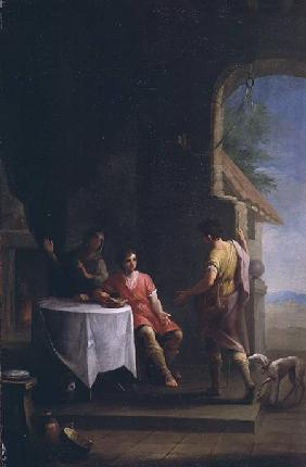 Esau selling his Birthright to Jacob